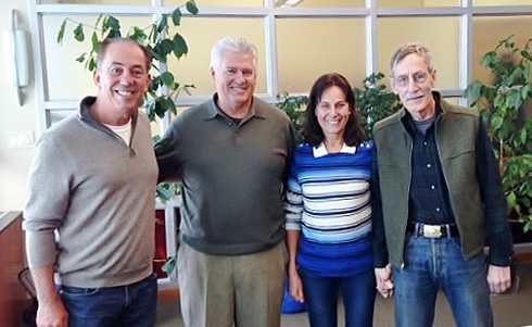 Marcos Croce, Dan Cox, Silvia Croce, Bill Mares.