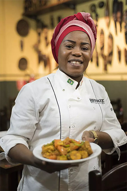 Mélanito Biyouha: People want to taste new things. I have to bring African tastes to local palates © Ricardo Lisboa