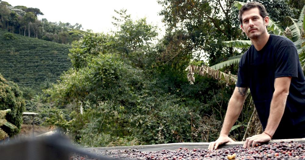 Felipe Croce at his family farm, Fazenda Ambiental Fortaleza, in Mococa, Brazil. Photo courtesy of Felipe Croce.